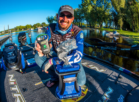 Ott DeFoe ConnectScale Bassmaster Elite Series Trophy