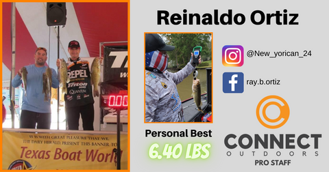 Reinaldo Ortiz - Connect Outdoors Pro Staff Team Member