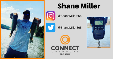 Shane Miller - Connect Outdoors Pro Staff Team - Angler Profile