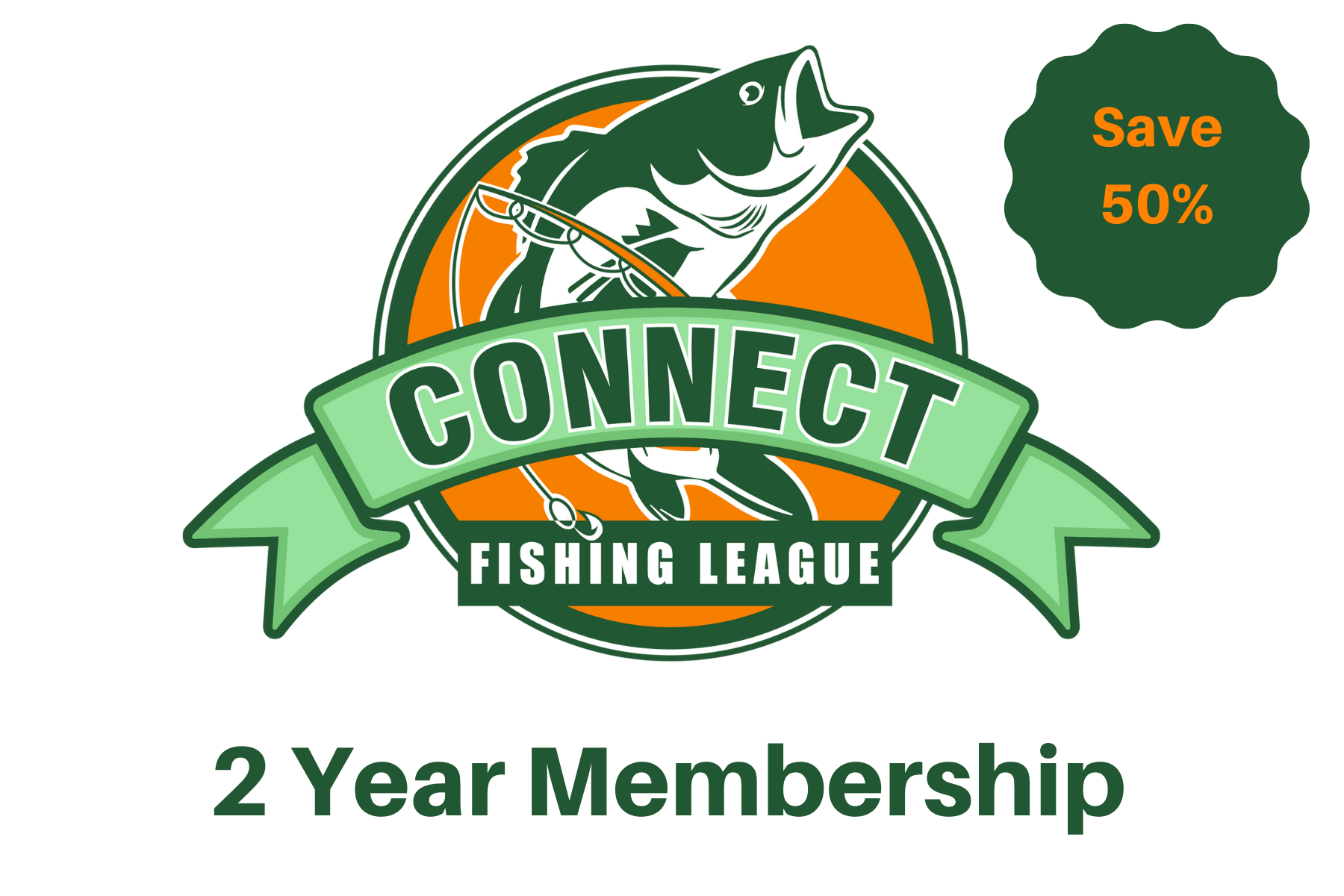 Connect Fishing League - 2 Year Gift Subscription + ConnectScale 2