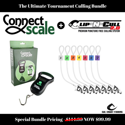 Bundle: Original ConnectScale + Clip-N-Cull 2.0 Tournament Culling Package
