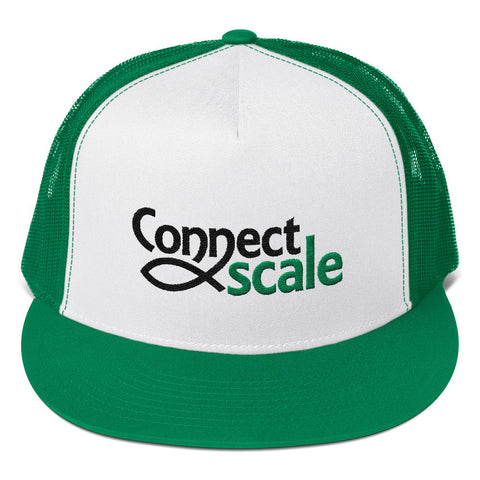 Trucker Cap - ConnectScale Logo