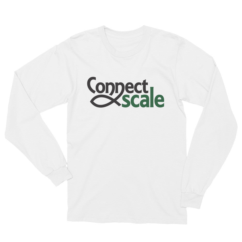 Long Sleeve T-Shirt - ConnectScale Logo