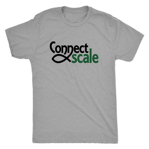 ConnectScale Mens T- Shirt (Triblend)