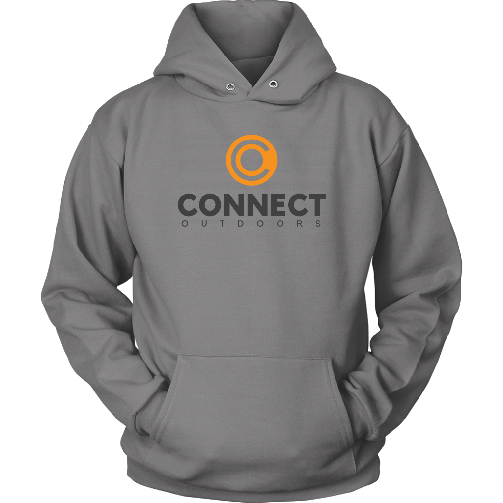 Connect Outdoors Hoodie Grey