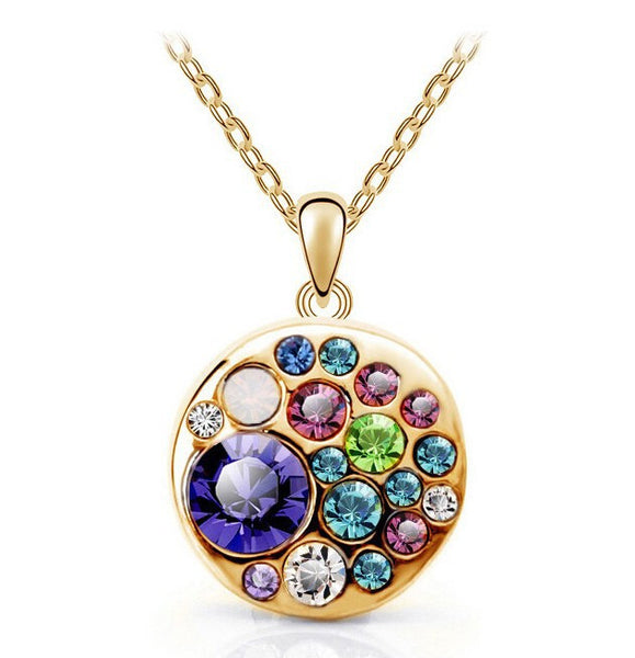Colorful Round Necklace