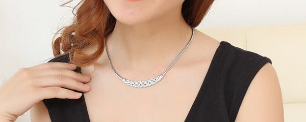 Stylish Silver Plated Necklace - 2