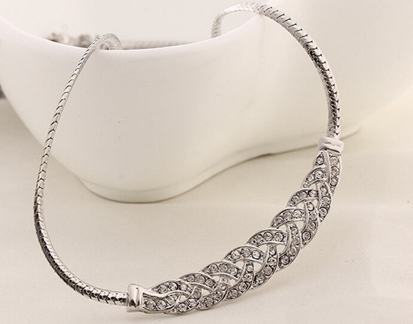 Stylish Silver Plated Necklace - 3