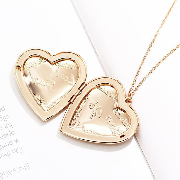 Rose Gold Plated Locket - 3