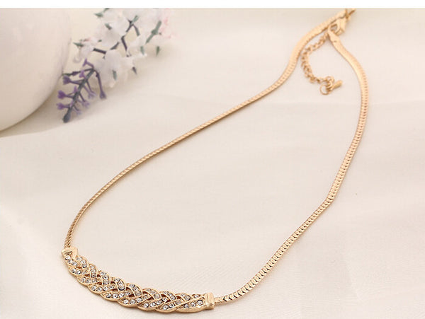 Stylish Gold Plated Necklace - 3