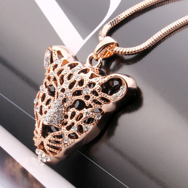Gold Plated Tiger Necklace - 4