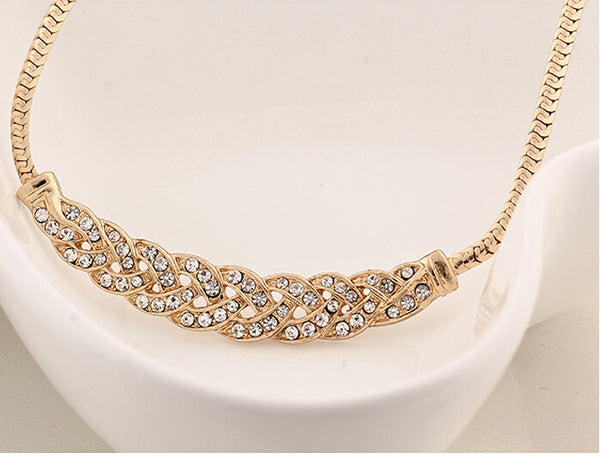 Stylish Gold Plated Necklace - 2
