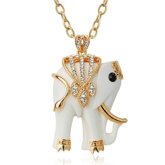 White Elephant Necklace - 2