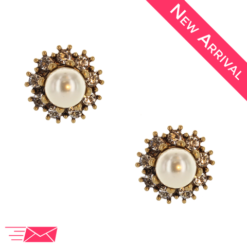 Perfect Pearl Earrings - 1