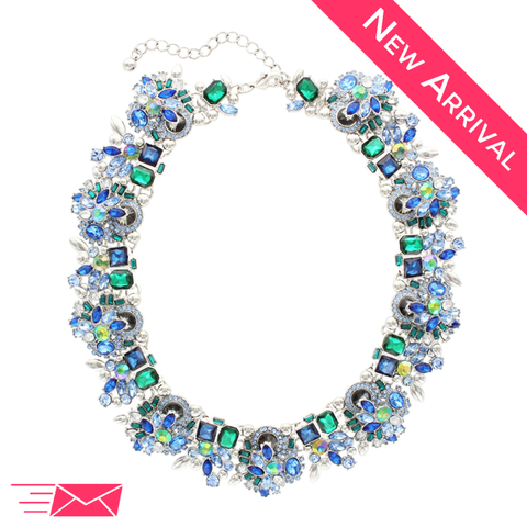 Vivian Statement Necklace - 1