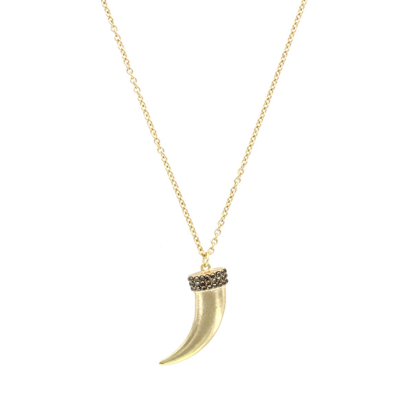 Detailed Tusk Necklace - 2