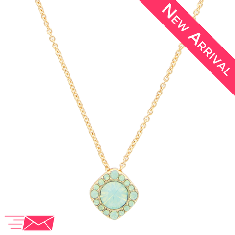 Touch of Mint Necklace - 1