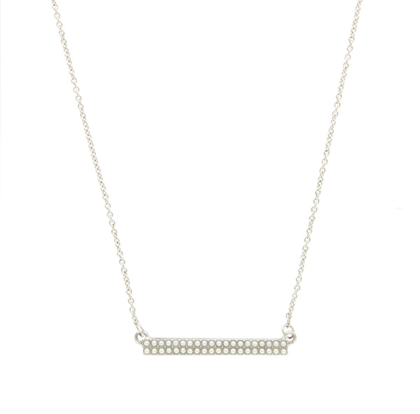 Pearl Bar Necklace - 2