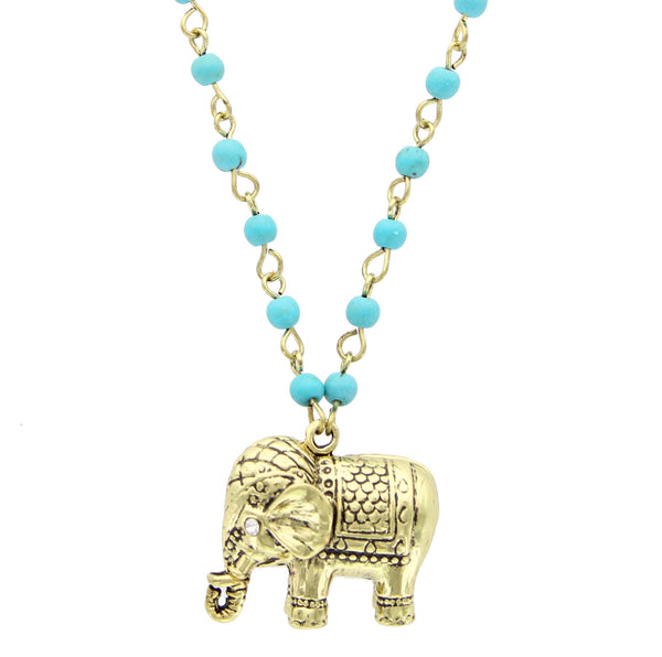 Elephant Friend Necklace - 2