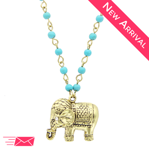 Elephant Friend Necklace - 1