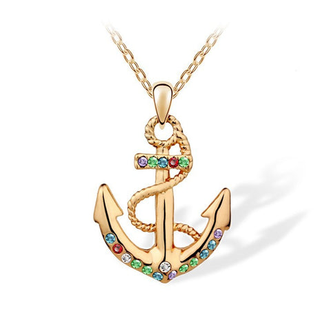 Anchor Necklace - 1