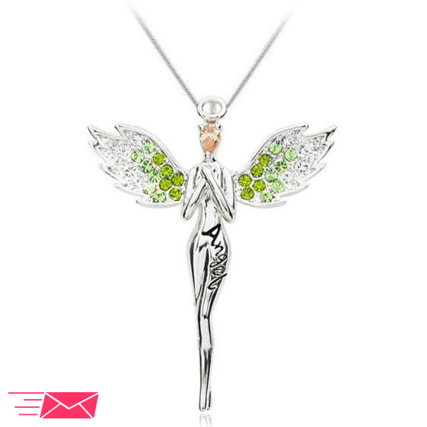 Praying Angel Necklace - 1