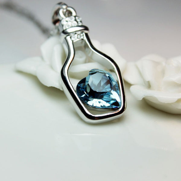 Heart in a Bottle Necklace - 4
