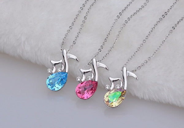 Musical Note Necklace - 2