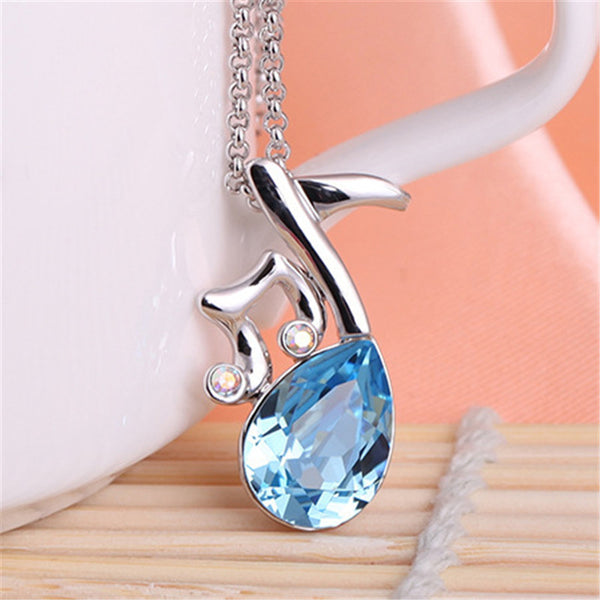 Musical Note Necklace - 1