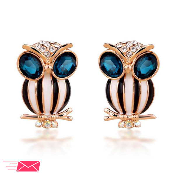 Owl Earrings - 1