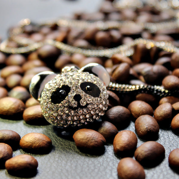 Cute Panda Necklace - 3