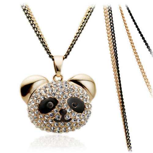 Cute Panda Necklace - 2
