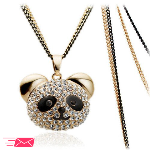 Cute Panda Necklace - 1