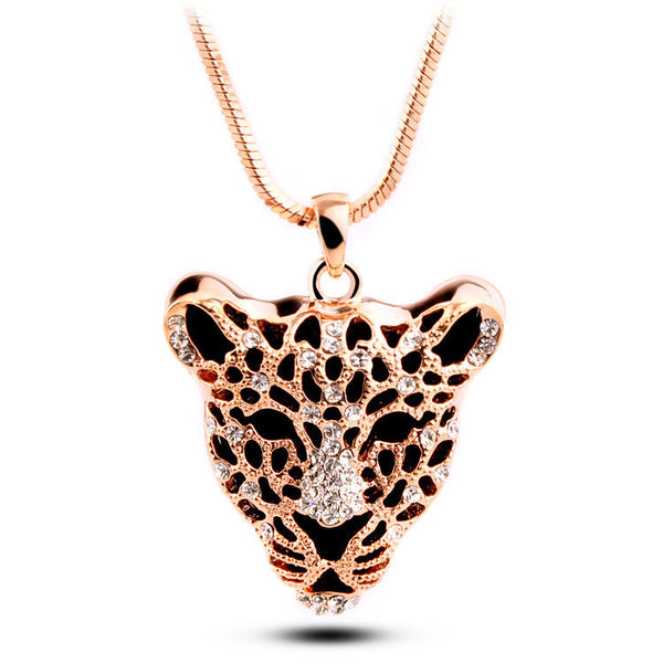 Gold Plated Tiger Necklace - 2