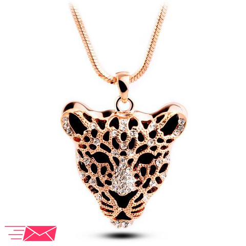 Gold Plated Tiger Necklace - 1