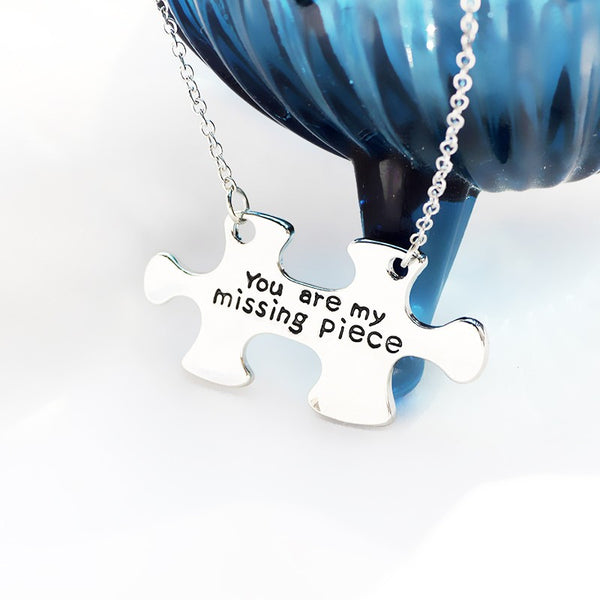 You Are My Missing Piece Necklace - 2