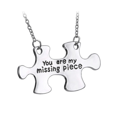 You Are My Missing Piece Necklace - 1