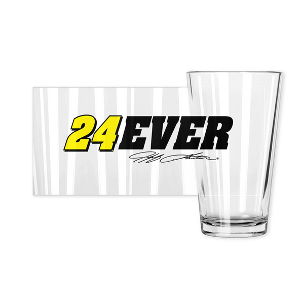 Jeff Gordon #24Ever Pint Glass