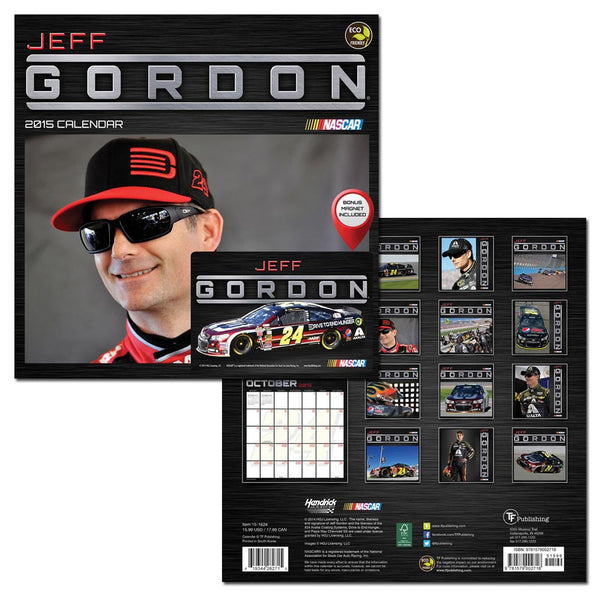 2015 Jeff Gordon Deluxe Wall Calendar