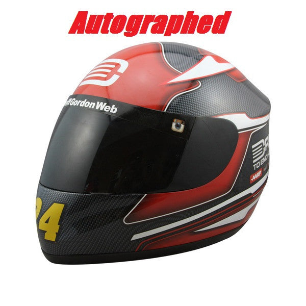 AUTOGRAPHED- Jeff Gordon 2015 Drive To End Hunger Full Size Replica Helmet