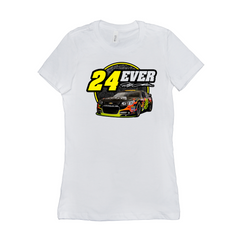 24Ever Car Logo Ladies' T-Shirt