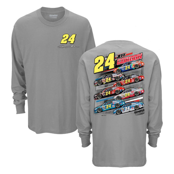 Jeff Gordon Exclusive 7 Car Long Sleeve Tee