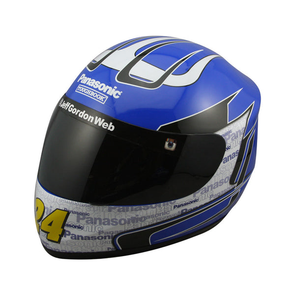 AUTOGRAPHED- Jeff Gordon 2015 Panasonic Full Size Replica Helmet