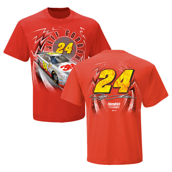 Jeff Gordon #24 Red 3M Speedbolt Junior Tee