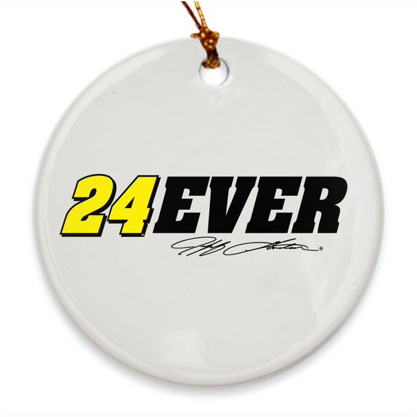 Jeff Gordon #24Ever Holiday Ornament