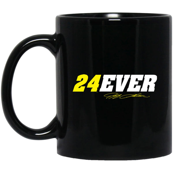 Jeff Gordon 24Ever 11 oz. Black Mug