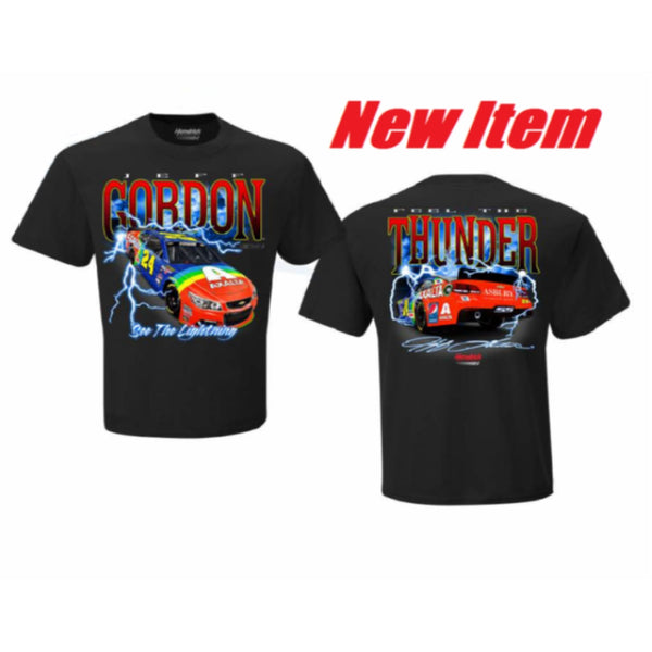 Jeff Gordon Feel The Thunder Retro Tee