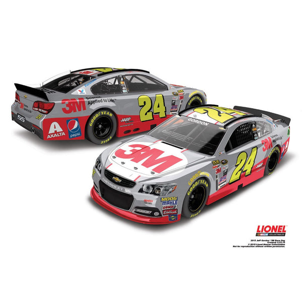 Jeff Gordon 3M Race Day 2015 1:24 Diecast
