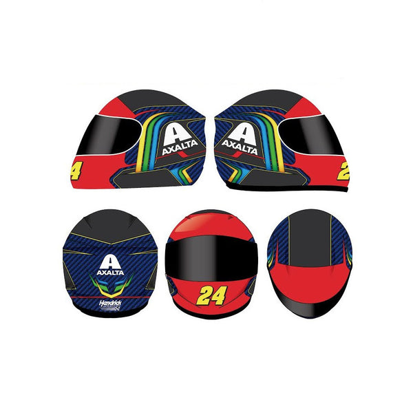 Jeff Gordon #24 Axalta Rainbow Full Size Replica Helmet