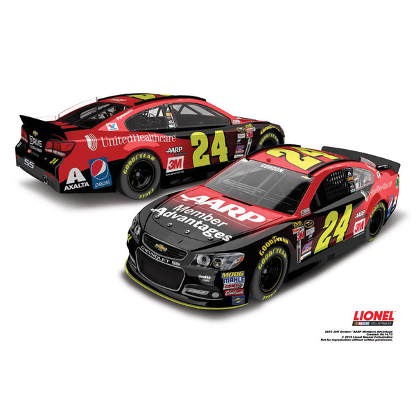 Jeff Gordon 2015 AARP Members Advantage 1:24 Diecast